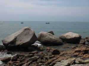 Laoshan Rocks