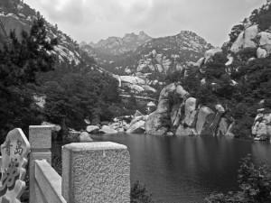 Laoshan Lake B/W